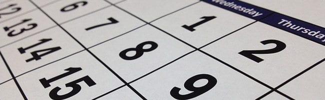 Legal Calendar 2015