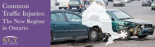 Common Traffic Injuries CTI Ontario - Motor Vehicle Accident Lawyer