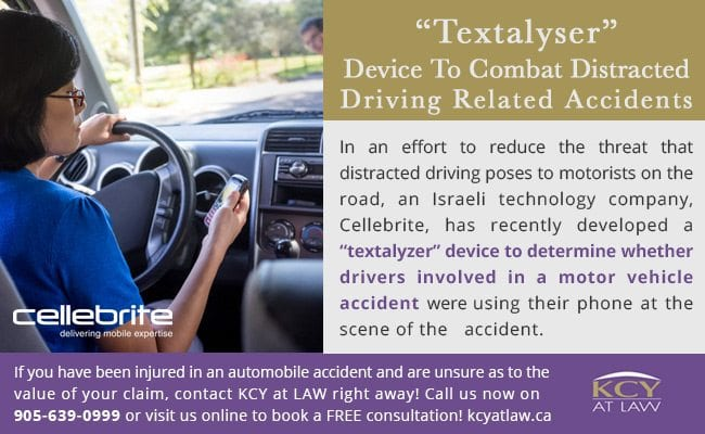 """Textalyser"" Device To Combat Distracted Driving Related Accidents - Personal Injury Lawyer Toronto"