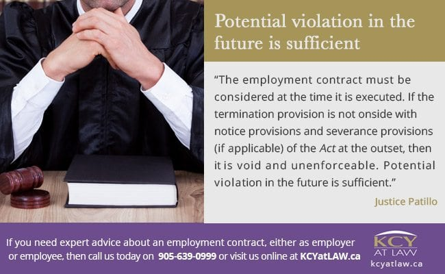 Violation of the ESA - Employment Lawyer