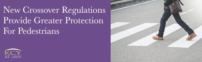 New Crossover Regulations - Greater Protection for Pedestrians