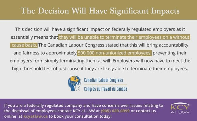 Supreme Court Of Canada Ruling Wilson v Atomic Energy of Canada Ltd - Unfair Dismissal - KCY at LAW