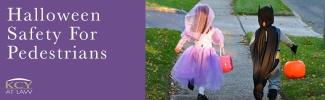 Halloween Safety for Pedestrians - Car Accident Lawyer