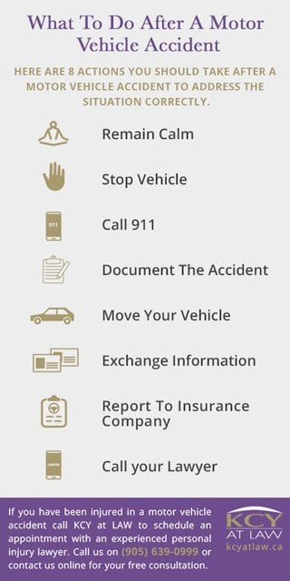 What To Do After a Motor Vehicle Accident - KCY at LAW Personal Injury Lawyer
