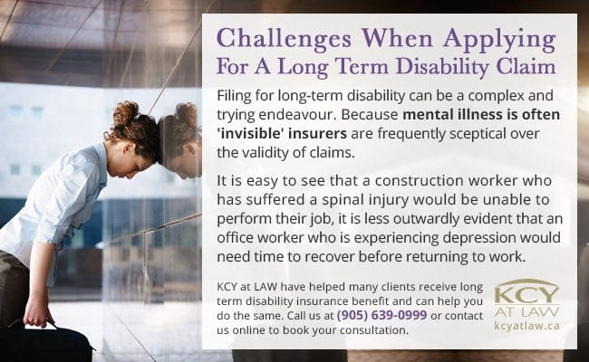 Challenges Applying for Long Term Disability Claim - KCY at LAW