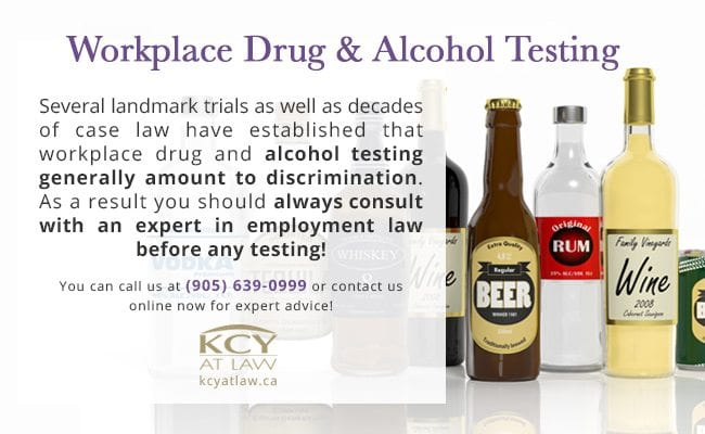 Workplace Drug & Alcohol Testing - Employment Law