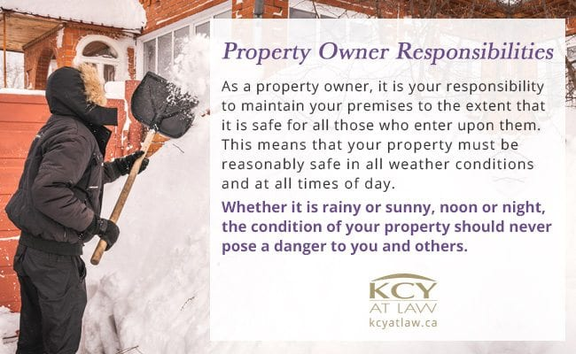 Property Owner Responsibilities - KCY at LAW Personal Injury Lawyer