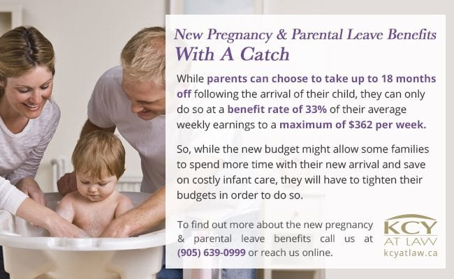 New Pregnancy and Parental Leave Proposals - Budget 2017 - KCY at LAW