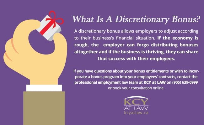 What Is A Discretionary Bonus - KCY at LAW