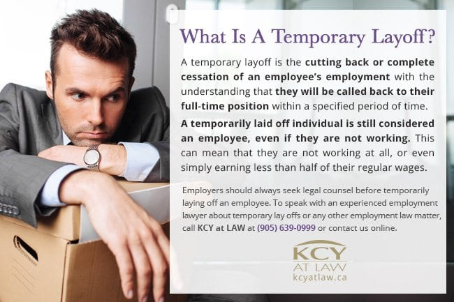 What Is A Temporary Layoff - Employment Lawyer - KCY at LAW