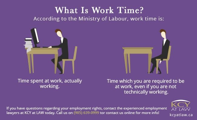 What Is Work Time - KCY at LAW - Employment Lawyer
