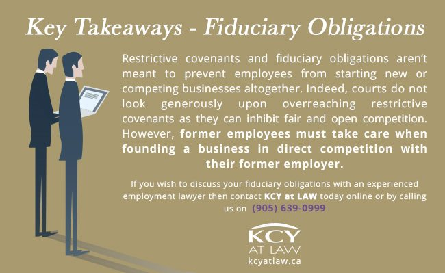 Employee Fiduciary Obligations - KCY at LAW - Employment Lawyers