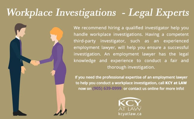 Legal Experts in Workplace Investigations - KCY at LAW