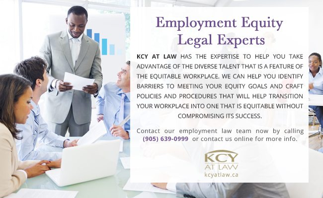 Employment Equity Legal Experts - KCY at LAW Employment Lawyers
