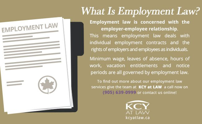 What Is Employment Law - Employment Law Canada - KCY at LAW